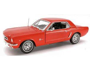 Welly WE0902 FORD MUSTANG COUPE' 1964 RED 1:18 Modellino
