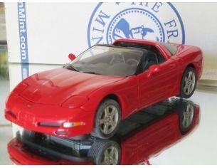 Franklin Mint B11WW95 Corvette Coupè Red 1997 1:24 Modellino