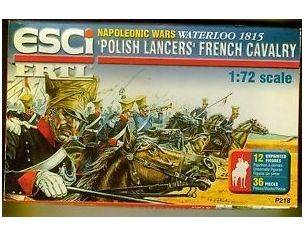 ERTL P218 NAPOLEONIC WARS WATERLOO 1815 - Polish Lancers French Cavalry 1:72 Modellino