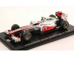 Spark Model SJ007 MC LAREN MP4-26 J.BUTTON 2011 N.4 WINNER JAPAN GP 1:43 Modellino