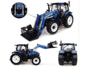 Universal Hobbies UH4956 NEW HOLLAND T6.145 WITH 740 TL LOADER 1:32 Modellino