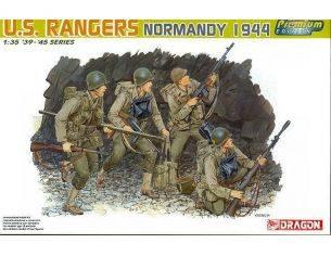 Dragon D6021 U.S. RANGERS (NORMANDY 1944) KIT 1:35 Modellino