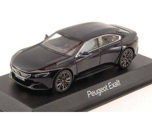 Norev NV479988 PEUGEOT CONCEPT CAR EXALT 2015 DARK BLUE & GLOSS BLACK 1:43 Modellino