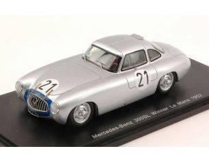 Spark Model S43LM52 MERCEDES 300SL N.21 WINNER LM 1952 H.LANG-F.RIESS 1:43 Modellino