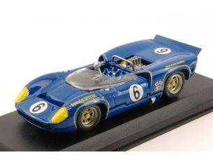 Best Model BT9621 LOLA T 70 MK2 N.6 WINNER CAN AM MOSPORT 1966 MARK DONOHUE 1:43 Modellino