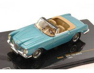 Ixo model CLC247 FACEL VEGA  FACEL 6 1964 METALLIC BLUE 1:43 Modellino