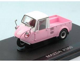 Ebbro EB44412 MAZDA K360 1959 PINK/WHITE 1:43 Modellino