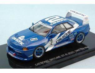 Ebbro EB44503 CALSONIC SKYLINE GT-R (R32) N.2 WINNER FUJI 1993 M.KAGEYAMA 1:43 Modellino