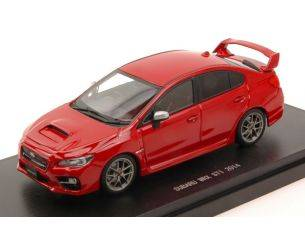 Ebbro EB45313 SUBARU WRX STI 2014 RED 1:43 Modellino