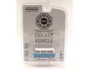Greenlight GREEN44720E VW BUS T2B 1971 LOST TV SERIES BLISTER 1:64 Modellino