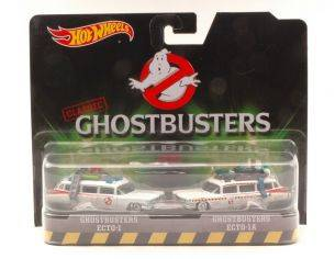 Hot Wheels HWDVG08 GHOSTBUSTERS ECTO-1/ECTO-1A Pz.2 BLISTER 1:64 Modellino