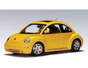 Auto Art / Gateway 79731 VW NEW BEETLE COUPE '99 YELLOW 1/18 Modellino