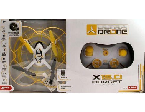 Mondo Motors MM63318 DRONE X15.0 HORNET cm 17 CAMERA INCLUDED (PICTURES 5 MEGA PIXELS) Modellino