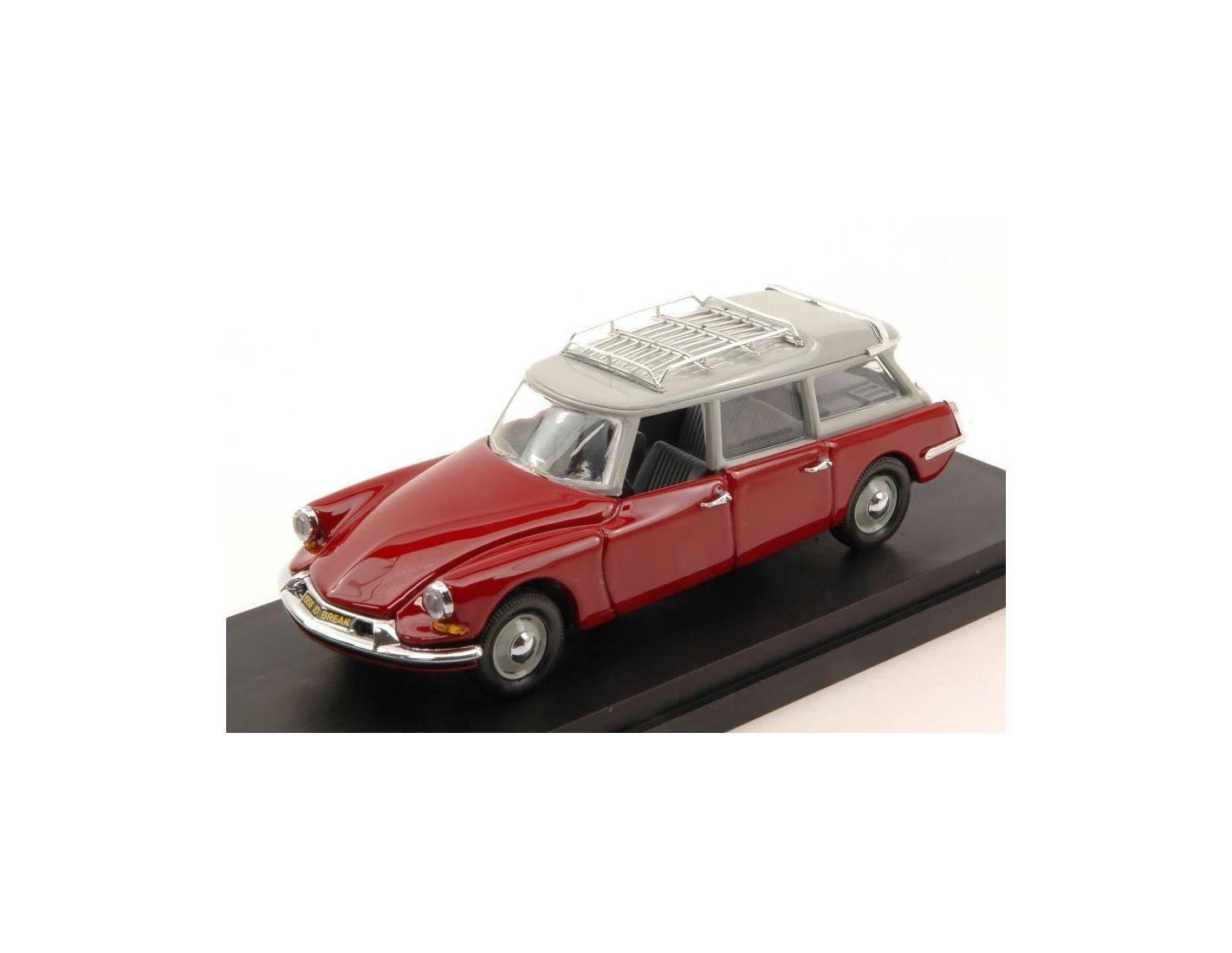 rio ri4493 citroen id 19 break 1962 bordeaux grigio 1 43 modellino. Black Bedroom Furniture Sets. Home Design Ideas