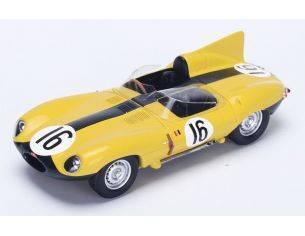 Spark Model S2131 JAGUAR D N.16 4th LM 1957 P.FRERE-F.ROUSSELLE 1:43 Modellino