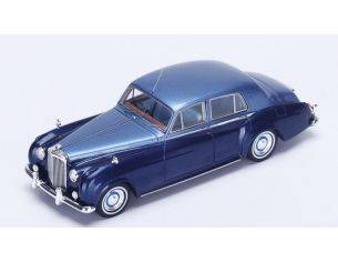 Spark Model S3813 BENTLEY S2 STANDARD STEEL BODY SALOON 1959-62 LIGHT BLUE MET.1:43 Modellino