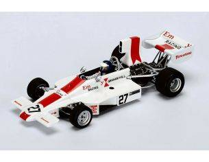 Spark Model S4355 LOLA T370 P.GETHIN 1974 N.27 RETIRED BRITISH GP 1:43 Modellino