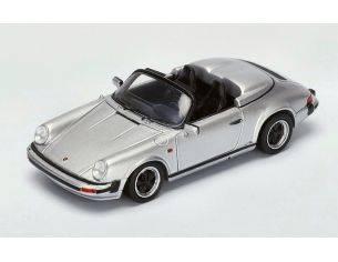 Spark Model S4470 PORSCHE 911 3.2 SPEEDSTER 1989 SILVER 1:43 Modellino