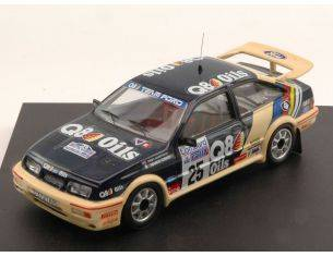 Trofeu TF0113 FORD SIERRA N.25 ACCIDENT RAC RALLY 1989 CUNICO-HARRYMAN 1:43 Modellino