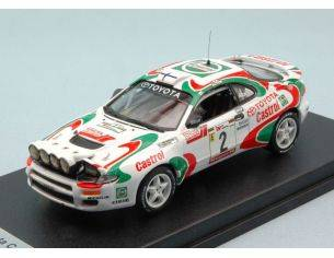 Trofeu TFRRAL38 TOYOTA CELICA TURBO 4WD N.2 1st RALLY PORTUGAL 1994 KANKKUNEN-GRIST 1:43 Modellino