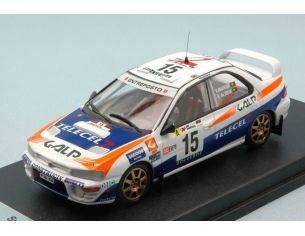 Trofeu TFRRAL39 SUBARU IMPREZA N.15 9th RALLY OF PORTUGAL 1999 MADEIRA-SILVA 1:43 Modellino
