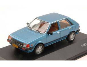 White Box WB209 MAZDA 323 HATCHBACK 1982 METALLIC BLUE 1:43 Modellino