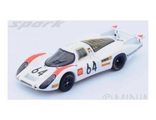 Spark Model S4746 PORSCHE 908 N.64 2nd LM 1969 H.HERRMANN-G.LARROUSSE 1:43 Modellino