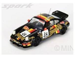 Spark Model S4440 PORSCHE 911 CARRERA 2 CUP N.48 DNF LM 1993 GROHS-LIBERT-THEYS 1:43 Modellino