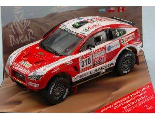 Vitesse VE43460 MITSUBISHI RACING LANCER N.310 7th DAKAR 2012 G.SPINELLI-H.YOUSSEF 1:43 Modellino