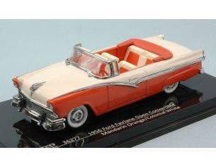 Vitesse VE36277 FORD FAIRLANE OPEN CONVERTIBLE 1956 MANDARIN ORANGE/COLONIAL WHITE 1:43 Modellino