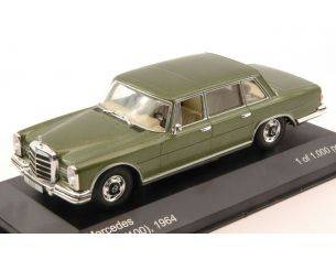 White Box WB176 MERCEDES 600 (W100) 1964 METALLIC GREEN 1:43 Modellino