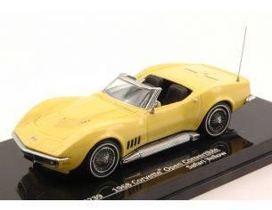 Vitesse VE36239 CORVETTE OPEN CONVERTIBLE 1968 SAFARI YELLOW 1:43 Modellino