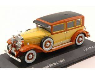 White Box WB182 CADILLAC V16 LWB IMPERIAL SEDAN 1930 YELLOW/BROWN 1:43 Modellino