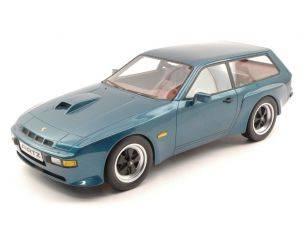 Protar PRX18001 PORSCHE 924 TURBO STATION WAGON BY ARTZ 1981 METALLIC BLUE 1:18 Modellino
