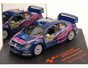 Vitesse VE43043 PEUGEOT 307 WRC N.66 10th RALLY CATALUNJA 2009 D.SNOBECK-G.MONDESIR 1:43 Modellino