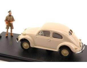 Mondo Motors MMVA014 VW TYP 82E BEETLE BEIGE + FIGURE 1:43 Modellino