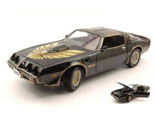 Greenlight GREEN12951 PONTIAC TRANS AM KILL BILL VOL.2 2004 BLACK/GOLD 1:18 Modellino