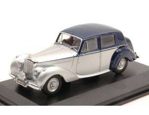 Oxford OXFBN6004 BENTLEY MK VI 1946 SILVER/BLUE 1:43 Modellino