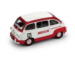 Brumm BM0585 FIAT 600 MULTIPLA 1960 MACCHINE DA CUCIRE NECCHI 1:43 Modellino