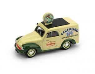 Brumm BM0554B FIAT 500B FURGONE 1950 CERTOSINO GALBANI 1:43 Modellino