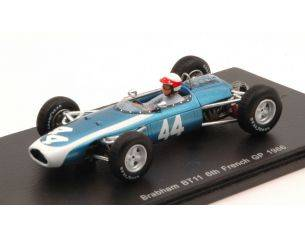 Spark Model S4336 BRABHAM BT11 J.TAYLOR 1966 N.44 6th FRENCH GP 1:43 Modellino