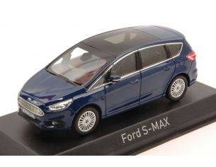 Norev NV270547 FORD S-MAX 2015 METALLIC BLUE 1:43 Modellino