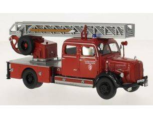 Neo Scale Models NEO46240 MERCEDES L3500 DL25 METZ VOLUNTEERS FIRE BRIGADE 1:43 Modellino