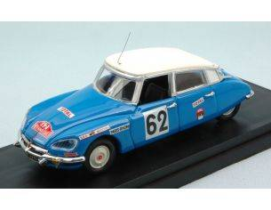 Rio RI4501 CITROEN DS 21 N.62 ACCIDENT MONTE CARLO 1970 SALOMON-SAINTIGNY 1:43 Modellino