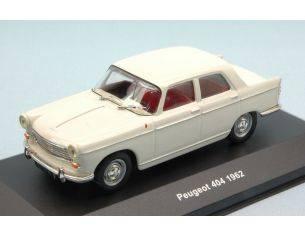 Solido SL4300800 PEUGEOT 404 BERLINE 1962 WHITE 1:43 Modellino