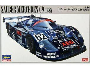 Hasegawa HG20273 SAUBER MERCEDES C9 1988 KIT 1:24 Modellino