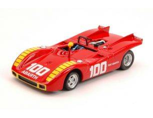Best Model BT9573 ABARTH 2000 SP N.100 2nd COPPA CITTA' DI ENNA 1970 A.MERZARIO 1:43 Modellino