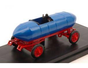 Rio RI4504 JENATZY JAMAIS CONTENT 1899 FIRST ELECTRIC CAR TORINO MUSEUM BLUE 1:43 Modellino