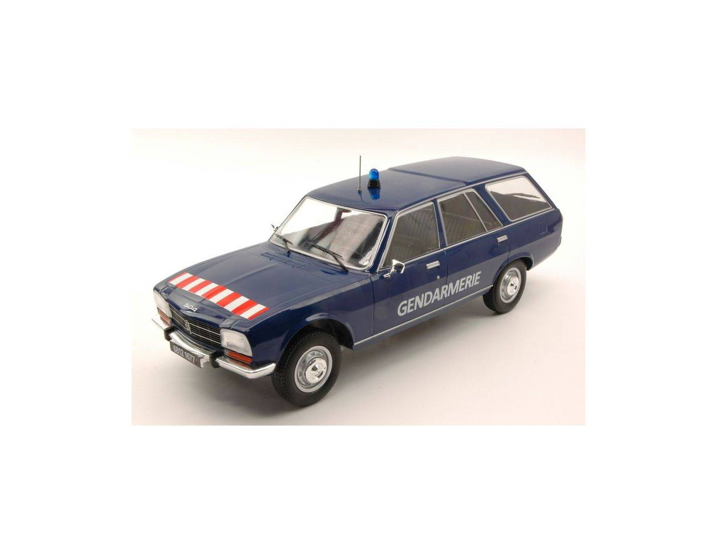 Mac due mcg18036 peugeot 504 break gendarmerie 1 18 modellino for Mac due the box
