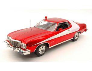 Greenlight GREEN19023 FORD GRAN TORINO STARSKY & HUTCH TV SERIES 1975-79 METALLIC RED 1:18 Modellino